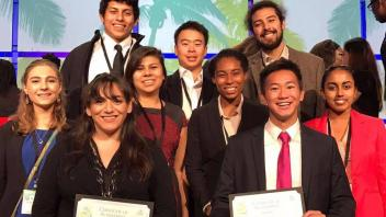 EEOP Upper Division Students Present Research and Win Awards at ABRCMS 2016